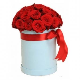 Цветы в коробочках